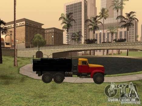 YAZ 214 para GTA San Andreas vista interior