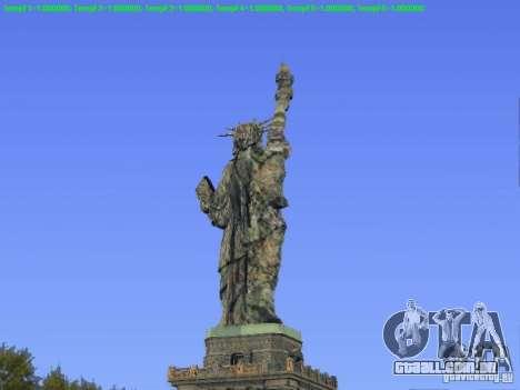 Estátua da liberdade 2013 para GTA San Andreas segunda tela