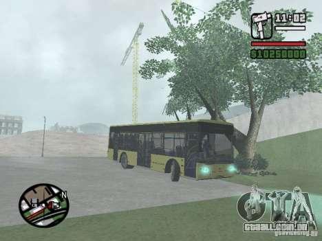 LAZ apresentado (SitiLAZ 10) para GTA San Andreas vista direita