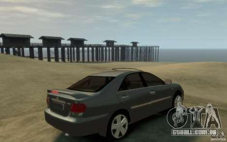 Toyota Camry 2006 para GTA 4 vista direita
