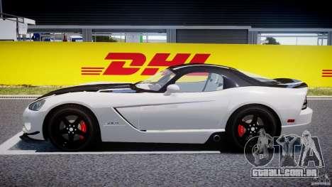 Dodge Viper SRT-10 ACR 2009 v2.0 [EPM] para GTA 4 esquerda vista