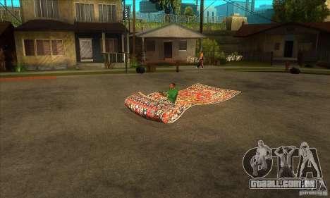 Flying Carpet v.1.1 para GTA San Andreas