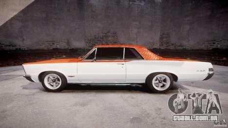 Pontiac GTO 1965 v3.0 para GTA 4 esquerda vista