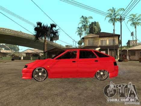 Lada 2112 GTS Sprut para GTA San Andreas esquerda vista