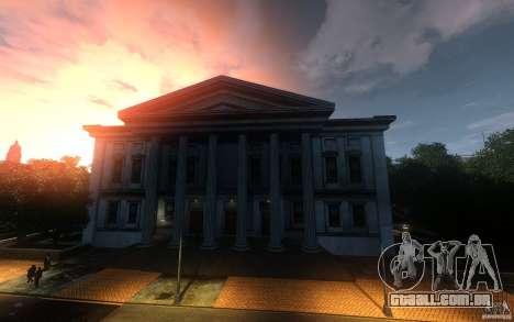 Telas de menu e inicialização de Liberty City em para GTA San Andreas sexta tela