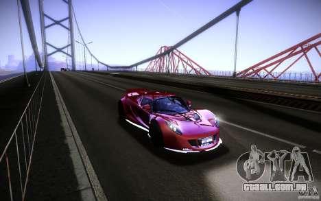 Hennessey Venom GT 2010 V1.0 para GTA San Andreas vista direita