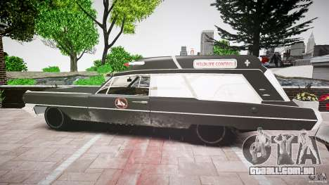 Cadillac Wildlife Control para GTA 4 vista direita