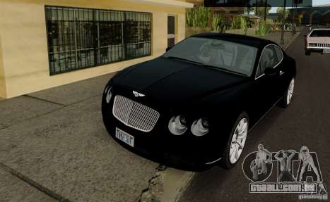 Bentley Continental GT V1.0 para GTA San Andreas