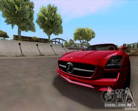 Mercedes-Benz SLS AMG V12 TT Black Revel para GTA San Andreas esquerda vista