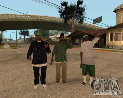 Bosque do Ballasy para GTA San Andreas terceira tela