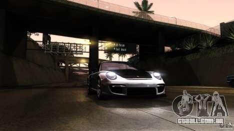Porsche 911 GT2 RS 2012 para GTA San Andreas vista superior