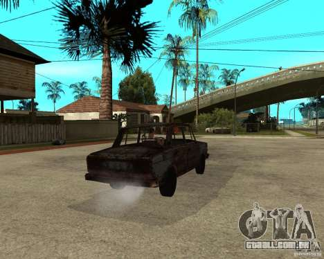 VAZ-2106 para GTA San Andreas traseira esquerda vista