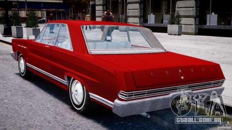 Ford Mercury Comet 1965 para GTA 4 vista direita