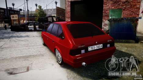 AZLK Moskvich 2141 STR-v 2.1 para GTA 4 traseira esquerda vista