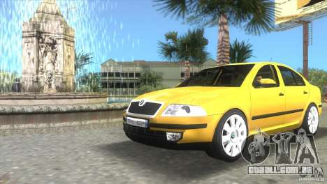 Skoda Octavia 2005 para GTA Vice City deixou vista