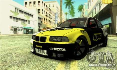 BMW E36 Urban Perfomance Garage para GTA San Andreas
