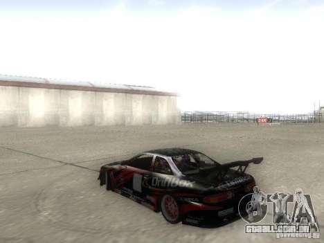 Toyota Soarer JZZ30 para GTA San Andreas esquerda vista