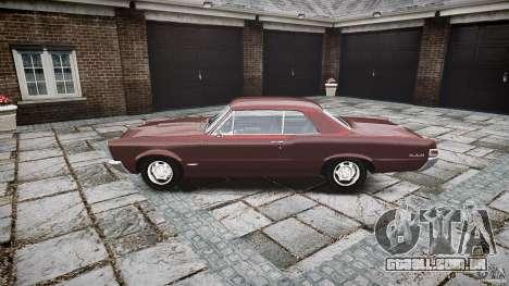 Pontiac GTO 1965 para GTA 4 vista interior