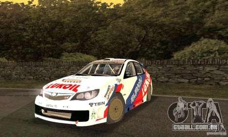Subaru Impreza WRX STi Russia Rally para GTA San Andreas