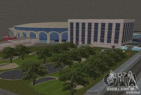 A cidade subterrânea secreta v 1.0 para GTA San Andreas
