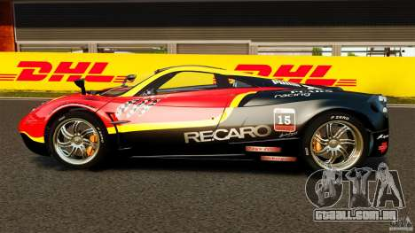 Pagani Huayra 2011 [EPM] para GTA 4 esquerda vista
