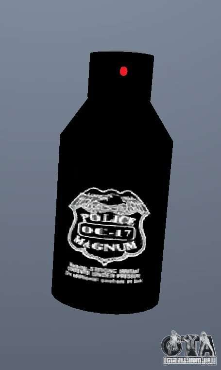PepperSpray para GTA San Andreas