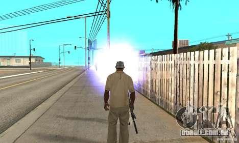 Hipnose em San Andreas para GTA San Andreas por diante tela