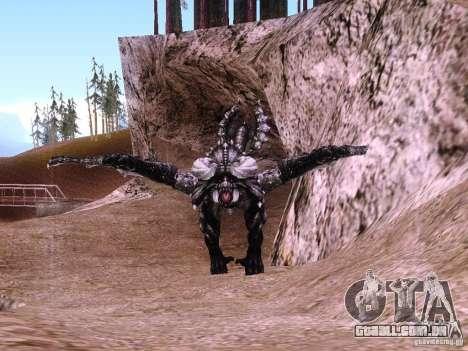Dragão v 2.0 para GTA San Andreas segunda tela
