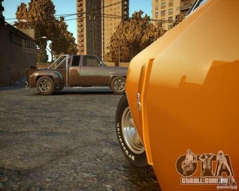 Dodge Charger Magnum 1970 para GTA 4 vista lateral