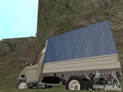 GAZ 3302 em 2001. para vista lateral GTA San Andreas