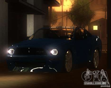 Shelby Mustang 2009 para GTA San Andreas esquerda vista