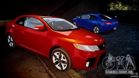 KIA Forte Koup para GTA 4