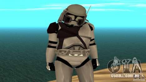 Commander Bacara para GTA San Andreas segunda tela