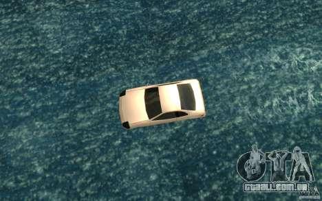 Alpha boat para GTA San Andreas vista direita