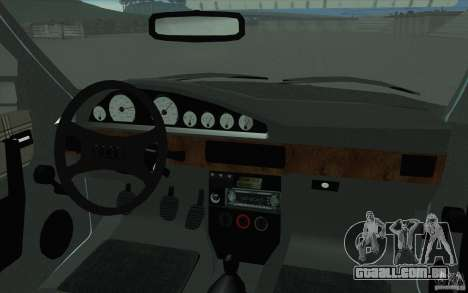 Audi 100 Avant Quattro para GTA San Andreas vista superior