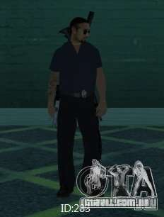 Novas skins polícia de San Angeles para GTA San Andreas sexta tela