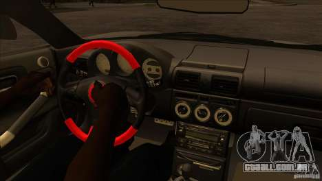Toyota MR-S Veilside para GTA San Andreas vista interior