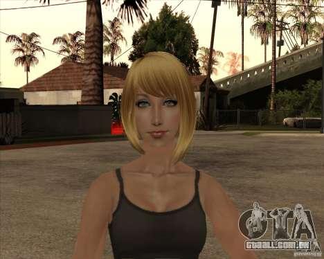 Nova gangrl3 para GTA San Andreas terceira tela