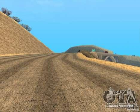 Desert HQ para GTA San Andreas sexta tela