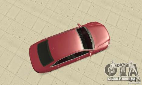 Audi A8L 4.2 FSI para GTA San Andreas vista direita