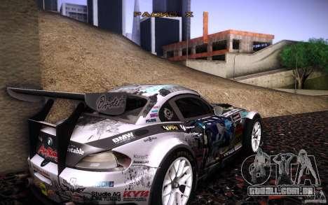BMW Z4 E89 GT3 2010 para o motor de GTA San Andreas