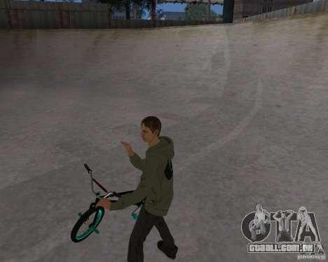 Tony Hawk para GTA San Andreas por diante tela
