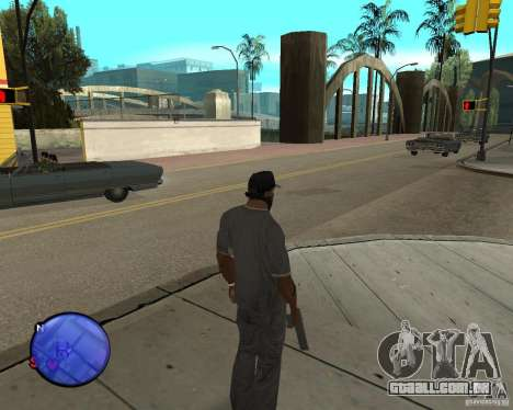 Police On Radar para GTA San Andreas terceira tela