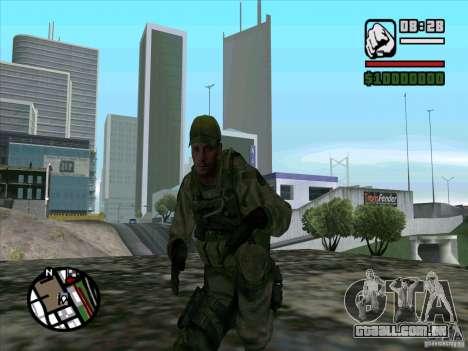 Dave de Resident Evil para GTA San Andreas terceira tela