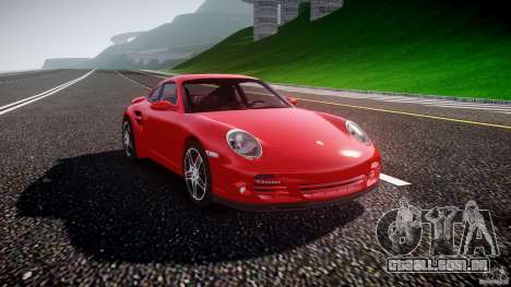 Porsche 911 Turbo V3 (final) para GTA 4 vista direita