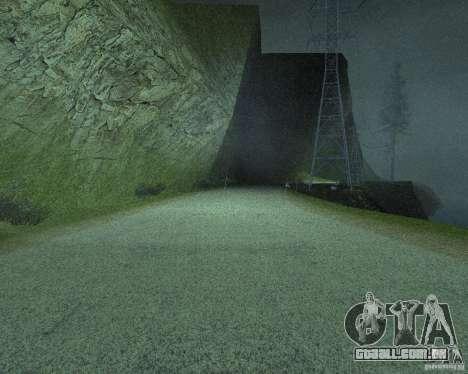 Novas estradas em San Fierro para GTA San Andreas twelth tela