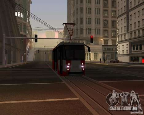 LM-2008 para GTA San Andreas vista superior