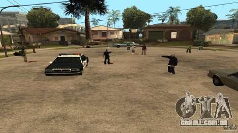 Na Grove Street foi atacado por Ballas para GTA San Andreas