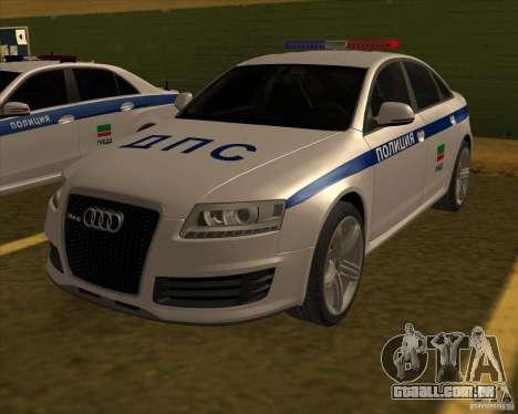 Audi RS6 2010 DPS para GTA San Andreas