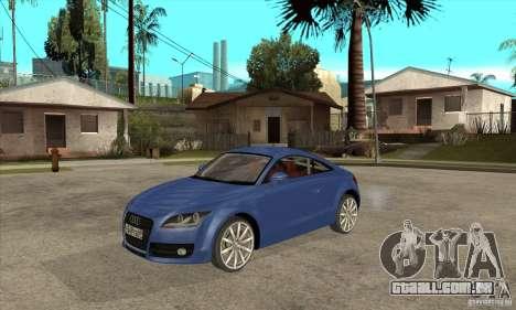 Audi TT 2007 para GTA San Andreas